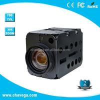 22x 27x 30x optical zoom cctv analog ptz camera module