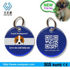 factory epoxy stainless steel dog tag with customized logo and printing