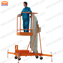 easy move 3m mobile aluminum hydraulic lift platform