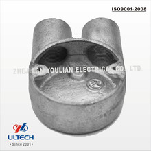 2way Electrical Malleable Iron Conduit Box Tee Type