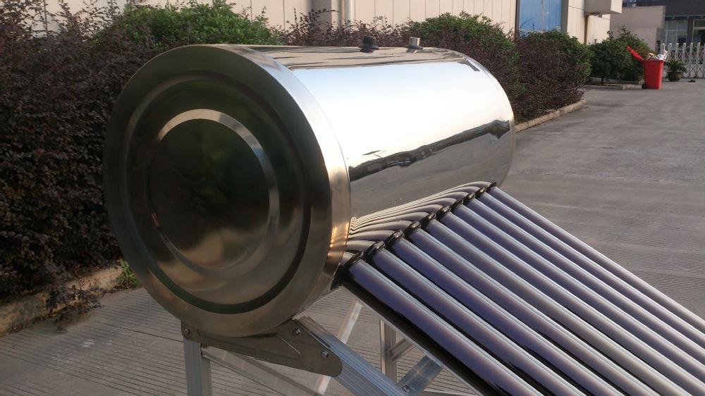Tous en acier inoxydable type de tube sous vide et directe for Chauffe eau solaire sous vide