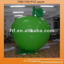 Giant inflatable apples