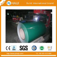 JIS G3302 1100mm&1200mm ppgi prepainted galvanized steel coil used for prefabricated home