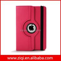 Fashion 360 degree rotating stand cover case for ipad mini 2