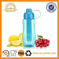 china novelty cold drinking bottle with ice stick