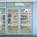 hd126 visión clara de cristal puertas herméticas para el hospital y comercial