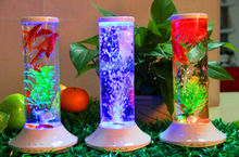 wholesale plastic fish bowls LED lamp full spectrum fish tank with bluetooth speaker