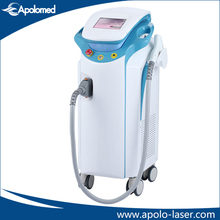 Leg and back hair removal diode laser machine with 15x40mm big spot size