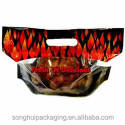 chicken bag, chicken plastic bag wrapping, laminated plastic bag for chicken bag