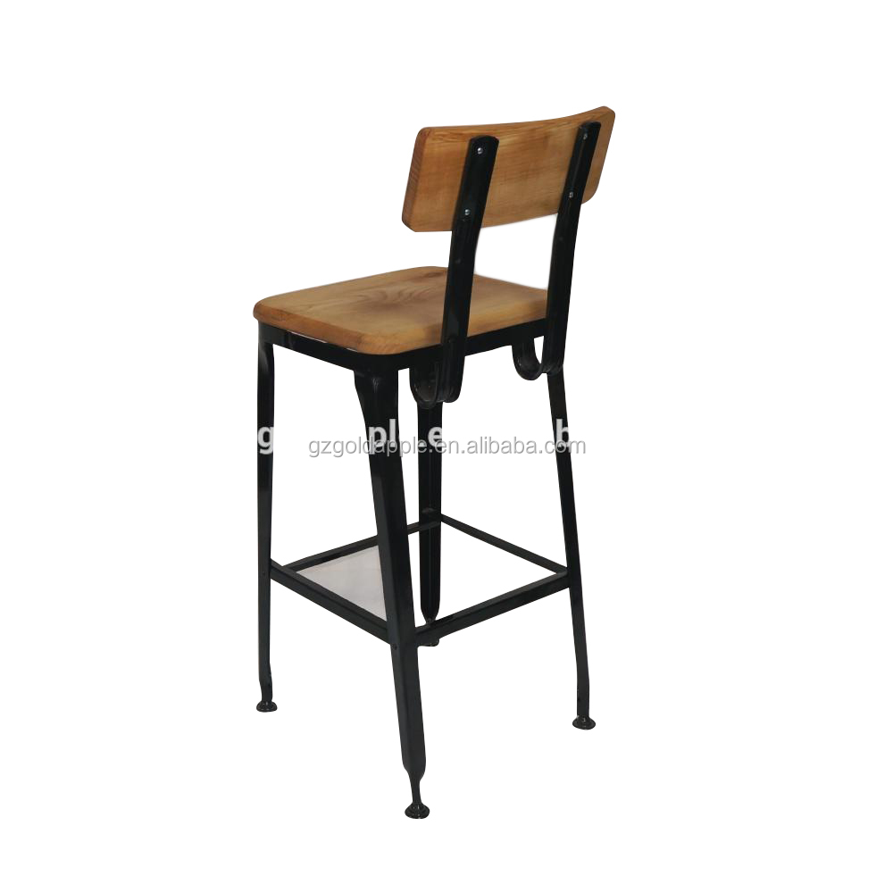 2015 Modern Wooden Furniture Cheap Wooden Bar Chairs For