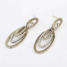 Gold Plated Decorative Fine Workmanship Handmade Earring Supply