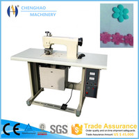 industrial ultrasonic sew machine ultrasound sealing sew machine ultrasonic lace stitching machine