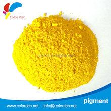supplier for pigment yellow 55 rubber colour pigment