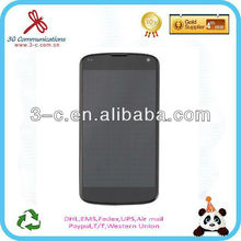hot sale touch screen replacement smart touch digitizer for LG google nexus 4 e960 with low price