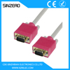 vga red white yellow cable XZRV003/vga 25 pin cable/parallel to vga cable