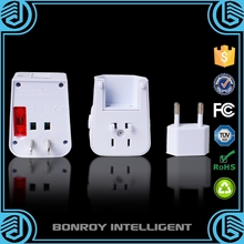 2015 Universal Promotional Travel Electric Adapter With Safety Function Fuse And Dual USB