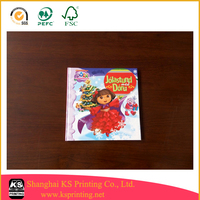 Shanghai children book printer, printing children picture book