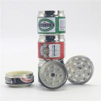 wholesale space case grinder magnetic 3 layers dry tobacco herb grinder 3 part herb grinder