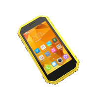 Wholesale custom android 4G smart mobile phone waterproof 4.5 inch quard Core