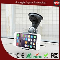 New car accessories products 360 degree rotation suction cup car cell phone holder,universal mobile display stand