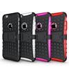 hot selling wholesale TPU+PP kickstand mobile phone case for iphone6/6s cell phone case for iphone 6 plus case