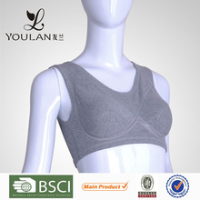 Custom Breathable Sports Cotton Bra for Women