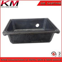 Casting metal electronic enclosure and accessories