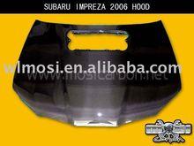 CARBON FIBER CAR HOOD CAR BONNET FOR SUBARU IMPREZA 2006 STYLE