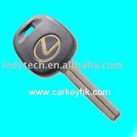 Top quality Lexus transponder key TOY 40 blade,car chip key