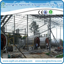 convert used plastic to fuel oil with 6tons per day capacity waste plastic recycling machine plastic processing plant