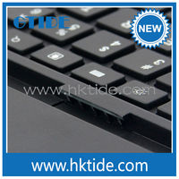 custom bluetooth keyboard for iPad air from Shenzhen China KB658 is also the flexible bluetooth wireless keyboard