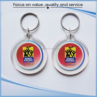 Competitive Price Customized Made photo key chain