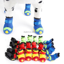 Trade Assurance DogLemi Puppy Boots Star Pattern 100% Cotton Denim Winter Smsll Dog Shoes with Colorful Choice