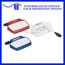 Hot selling top quality promotional logo printed plastic magnetic custom paper clip with pen AB098
