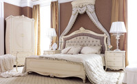 Pakistan Furniture classic design wooden bed