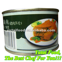Canned Sliced Pork in Szechuan Style