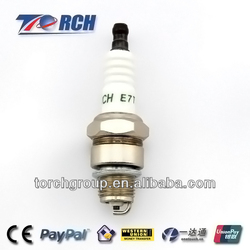 Torch auto igniton system parts spark plug E7TC quality match with Denso W22FP-U ,NGK BP7HS spark plug