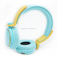 2015 newest wireless bluetooth headset with TF card slot mp3 player and FM for cell phone