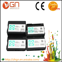 Order from China direct! Cheap price Remanufactured ink cartridge ink for hp 932 933 used for HP Officejet 6100 6600 6700