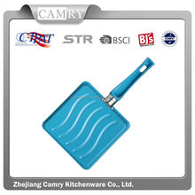 2014 fashion kitchen colorful carbon steel beef steak pan