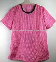 Uniforme Médico rosado de nuevo diseño