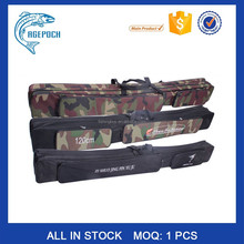Promotion! 1.2m Hot Sale Outdoor Canvas waterproof large capacity fishing tackle rod bag