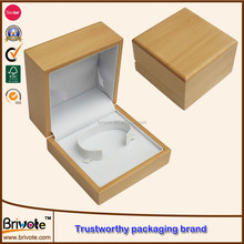 Custom wholesale leather wooden paper watch box