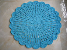 factory wholesale hand made crochet picnic rugs carpets