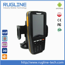 IP65 Android 4 core mobile data terminal with RFID barcode scanner