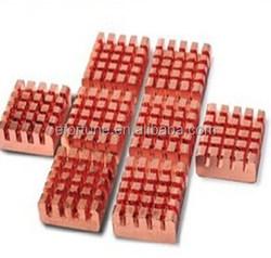 8Pcs/Pack Copper Heat Sink For raspberry pi DDR DDR2 DDR3 RAM Memory Cooler Ram Heatsink R17