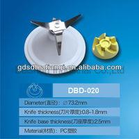 Plastic blender blade assembly spare parts for National blenders