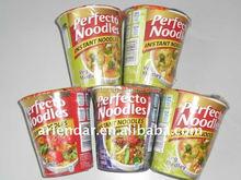 2 minutes Halal instant cup noodles