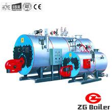 Oil gas hot water boiler low pressure boiler 1t hot water boiler