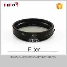 2015 new 35.5mm linear polarizer camera polarizing bandpass filters FIFO-PLL(M35.5x0.5) in store